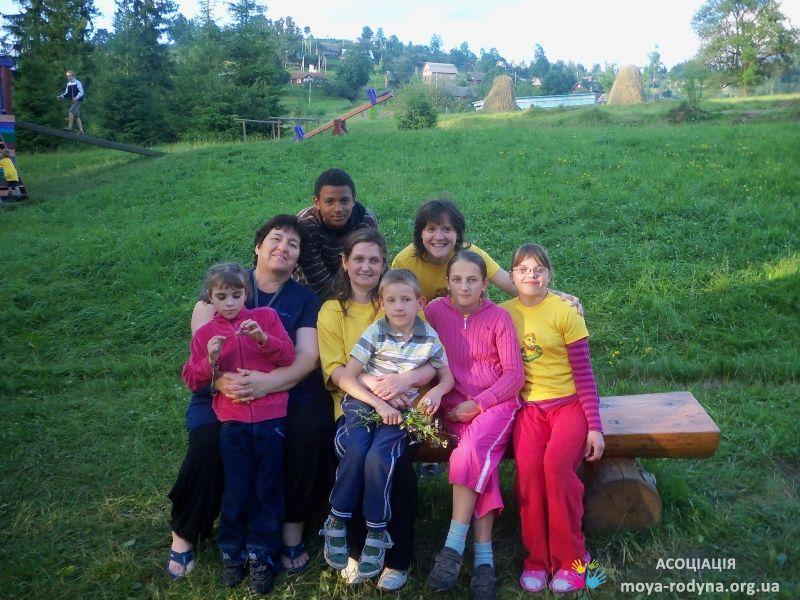 Летний лагерь в Карпатах